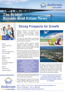 Modern Real Estate Marketing Bayside Newsletter