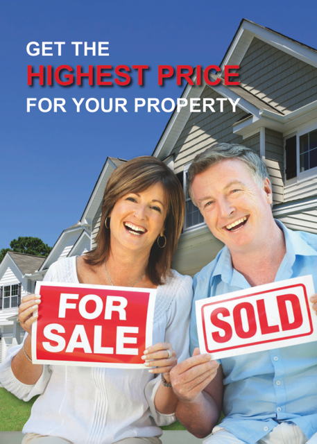 get the highest price for my property